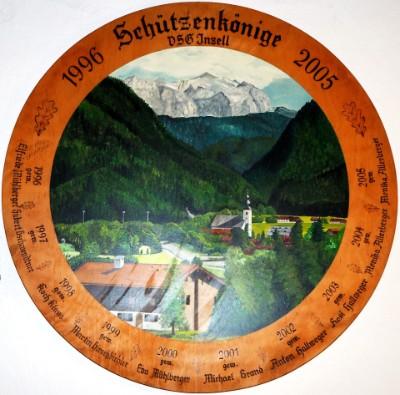 Schützenkönige 1996 - 2005